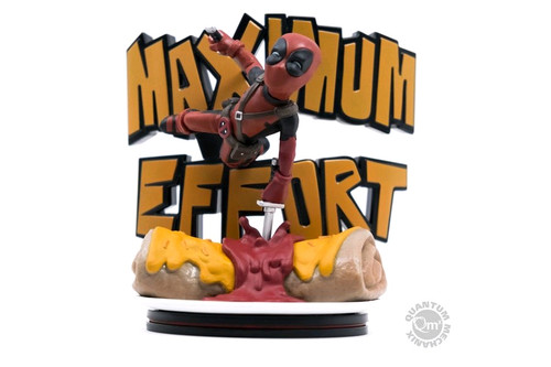 Deadpool - Maximum Effort Q-Fig Diorama-QMXMVL-0027