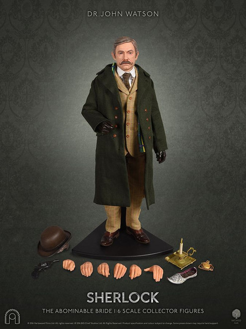 "Sherlock - Dr John Watson (The Abominable Bride) 12"" 1:6 Scale Action Figure-BCSBCSH0028"