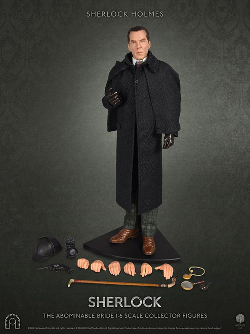 "Sherlock - Sherlock Holmes (The Abominable Bride) 12"" 1:6 Scale Action Figure-BCSBCSH0027"
