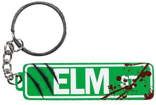 A Nightmare on Elm Street - Elm St Sign Metal Keychain-IKO1380