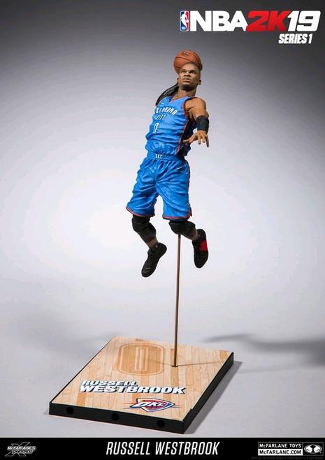 NBA - 2K series 01 Russel Westbrook Action Figure-MCF70002