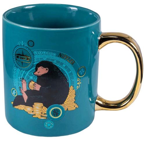 Fantastic Beasts - Niffler Gold Electroplated Mug-IKO1357