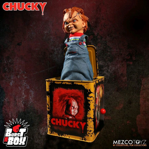 Child's Play - Chucky Scarred Burst-A-Box-MEZ78187