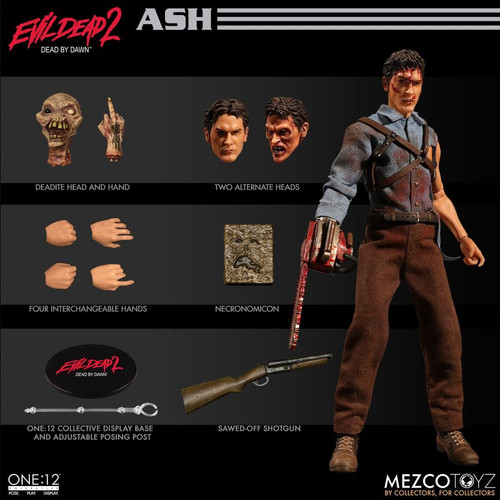Evil Dead 2 - Ash One:12 Collective Action Figure-MEZ76510
