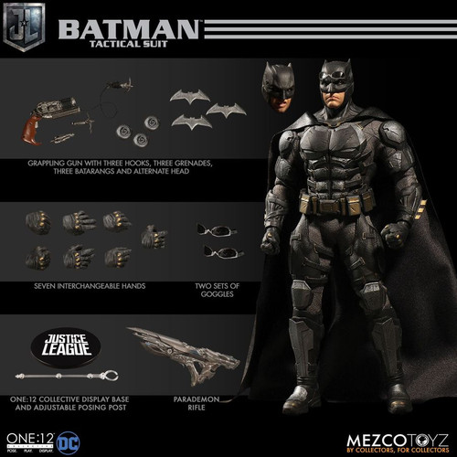 Justice League Movie - Batman Tactical Suit One:12 Collective Action Figure-MEZ76994