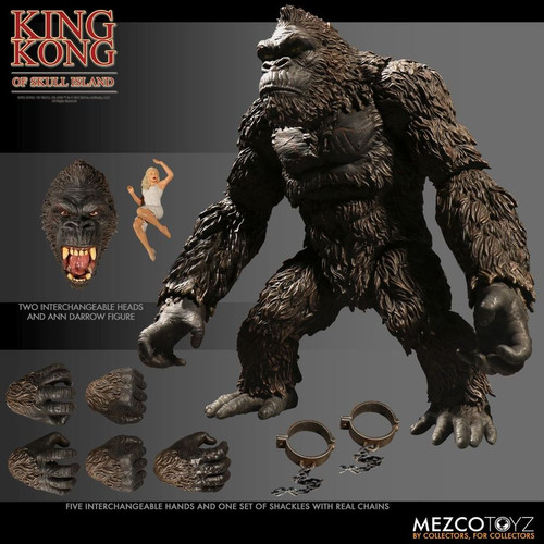 "King Kong - King Kong Of Skull Island 7"" Action Figure-MEZ10100"