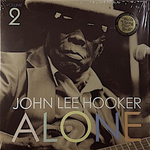JOHN LEE HOOKER-Alone Vol. 2 (download included) Vinyl LP-Brand New-Still Sealed