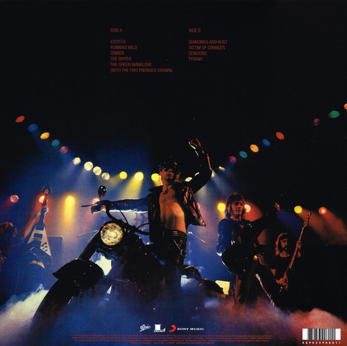 JUDAS PRIEST (180 gram)-Unleashed In The East Vinyl LP-Brand New-Still Sealed