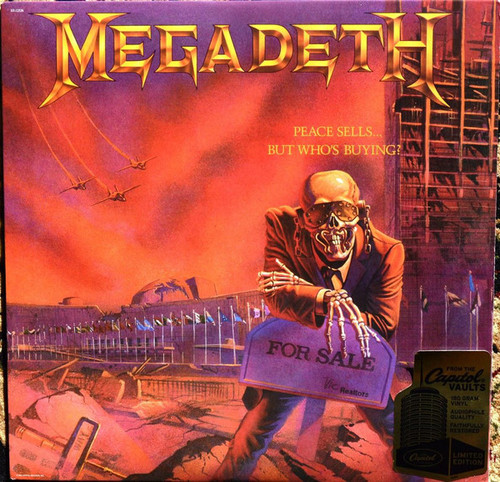 MEGADETH-Peace Sells…But Who's Buying (180 gram) Vinyl LP-Brand New-Still Sealed