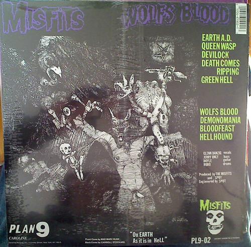 MISFITS-Earth A.D. Vinyl LP-Brand New-Still Sealed