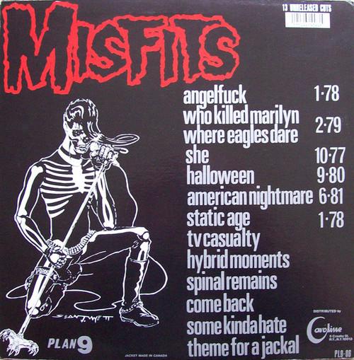 MISFITS-Legacy Of Brutality Vinyl LP-Brand New-Still Sealed