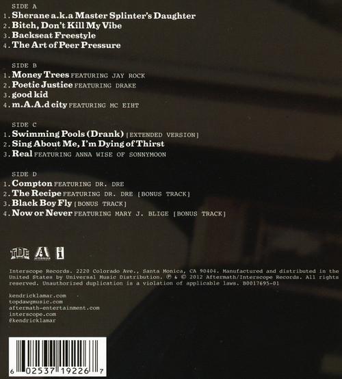 KENDRICK LAMAR-Good Kid, m.A.A.dcity (2 LP's) Vinyl LP-Brand New-Still Sealed
