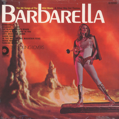 BARBARELLA-Soundtrack Music Vinyl LP-Brand New-Still Sealed