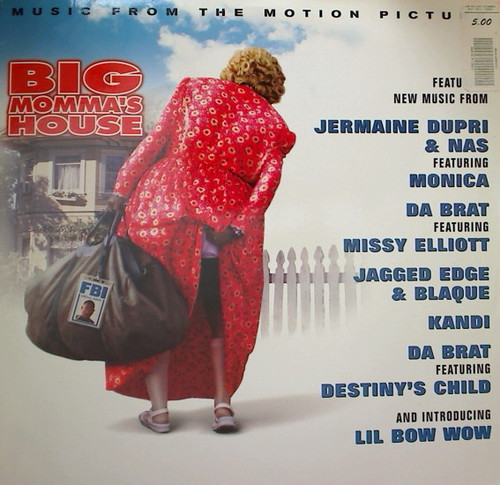 BIG MAMAS HOUSE - SOUNDTRACK (2 LP's)-Missy Elliot / Little Bow Wow / Destiny's Child Vinyl LP-Brand New-Still Sealed