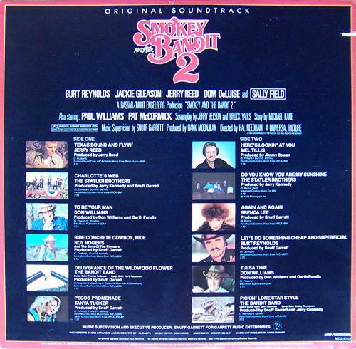 SMOKEY AND THE BANDIT 2-Original Soundtrack Vinyl LP-Brand New-Still Sealed