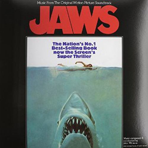 JAWS (180 gram)-Original Motion Picture Soundtrack Vinyl LP-Brand New-Still Sealed