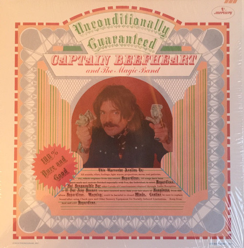 CAPTAIN BEEFHEART AND THE MAGIC BAND-Unconditionally Guaranteed Vinyl LP-Brand New-Still Sealed
