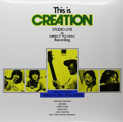 CREATION-This Is Creation - Studio Live Direct To Disc Vinyl LP-Brand New-Still Sealed