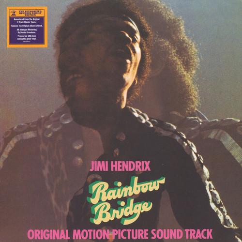 JIMI HENDRIX-Rainbow Bridge - Soundtrack (200 Gram Vinyl) Vinyl LP-Brand New-Still Sealed