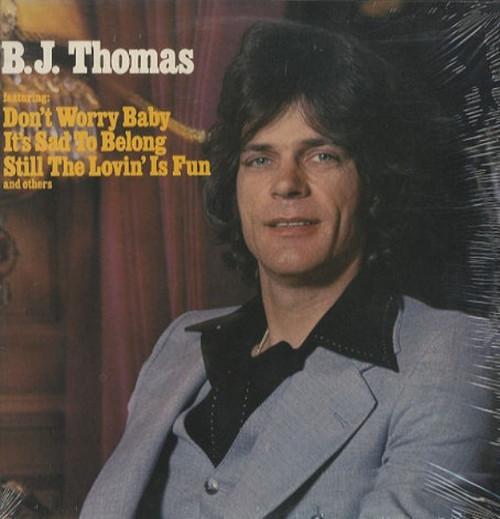 B.J. THOMAS-B.J. Thomas Vinyl LP-Brand New-Still Sealed