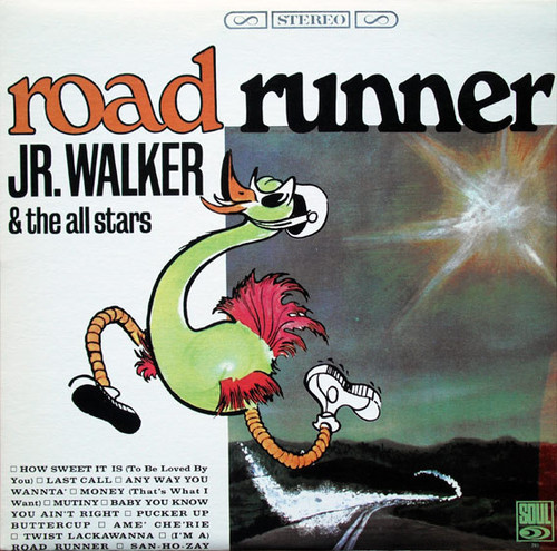 JR. WALKER & THE ALL STARS-Road Runner Vinyl LP-Brand New-Still Sealed
