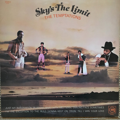 TEMPTATIONS-Sky's The Limit Vinyl LP-Brand New-Still Sealed