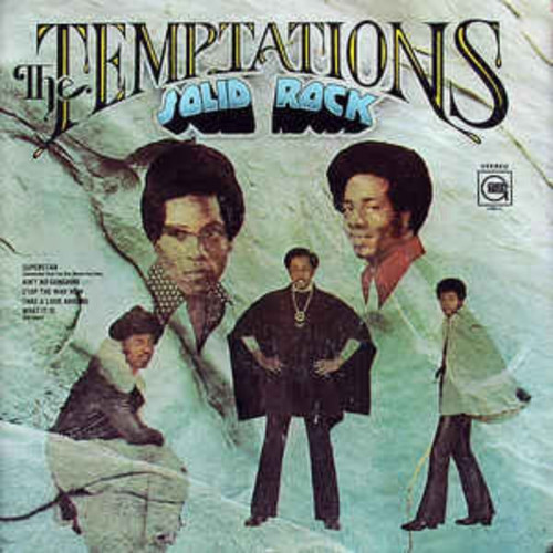 TEMPTATIONS-Solid Rock Vinyl LP-Brand New-Still Sealed