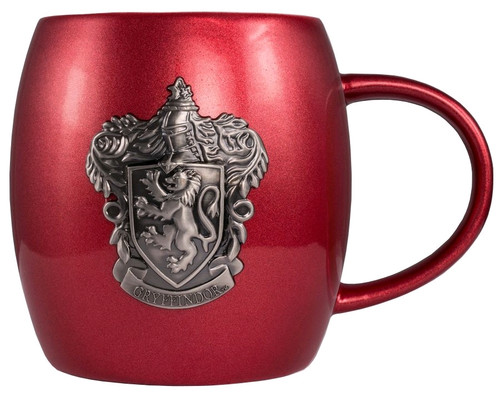 Harry Potter - Gryffindor Metallic Crest Mug-IKO1327