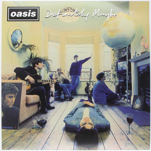 OASIS-DEFINITELY MAYBE (VINYL)-VINYL LP-Brand New-Still Sealed