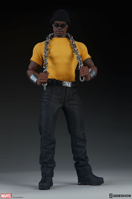 "Luke Cage - Luke Cage 12"" 1:6 Scale Action Figure-SID100427"