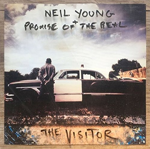 NEIL YOUNG & PROMISE-THE VISITOR Import -Brand New-Still Sealed