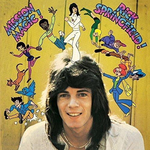 RICK SPRINGFIELD-MISSION MAGIC! Vinyl LP-Brand New-Still Sealed