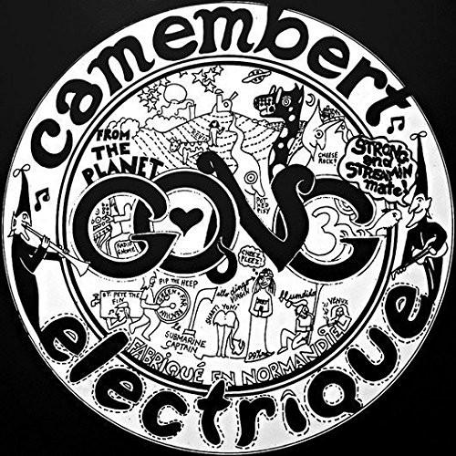 GONG-CAMEMBERT ELECTRIQUE  Vinyl LP-Brand New-Still Sealed