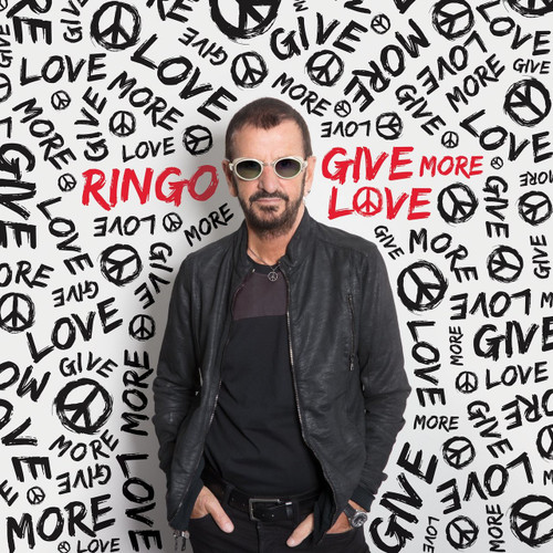 RINGO STARR-GIVE MORE LOVE  Vinyl LP-Brand New-Still Sealed