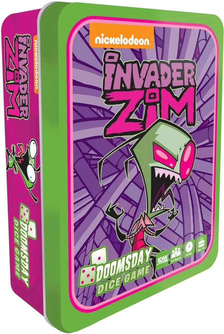 Invader Zim - Doomsday Dice Game-IDW01425