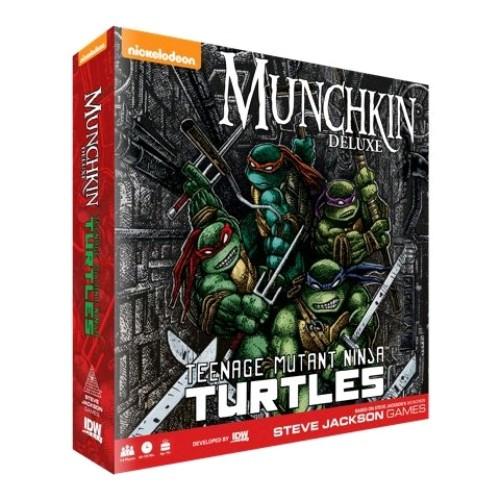 Munchkin - Teenage Mutant Ninja Turtles Deluxe-IDW01575