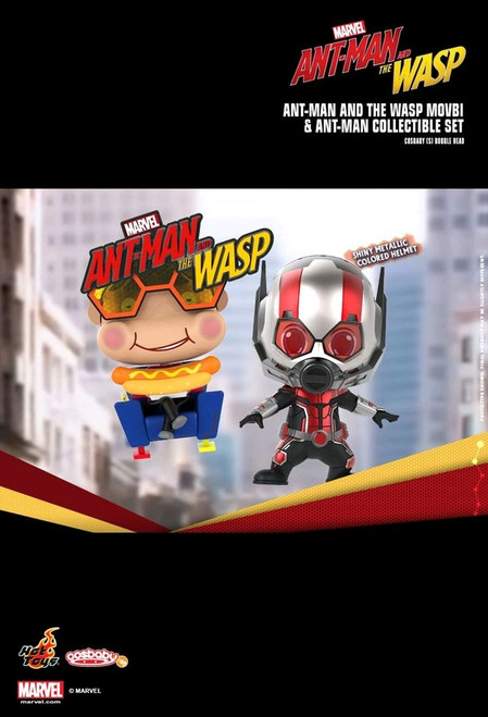 Ant-Man and the Wasp - Movbi & Ant-Man Cosbaby Set-HOTCOSB492