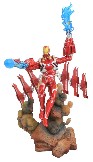 Avengers 3: Infinity War - Iron Man PVC Gallery Diorama-DSTMAY182307