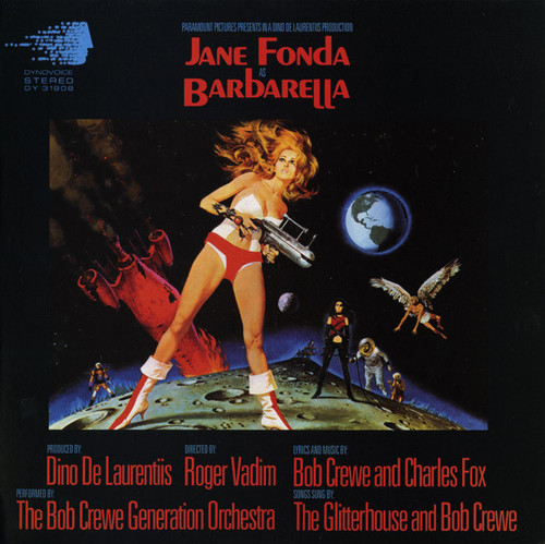 BARBARELLA-Soundtrack Music Vinyl LP-Brand New-Still Sealed