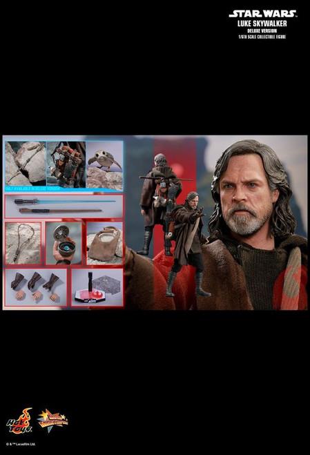"""Star Wars - Luke Skywalker Deluxe Episode VIII The Last Jedi 12"""" 1:6 Scale Action Figure-HOTMMS458"""