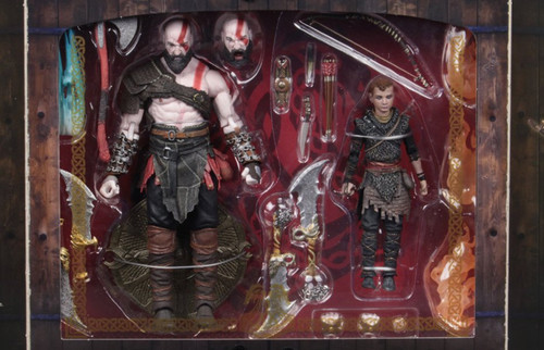 "God of War (2018) - Kratos & Atreus 7"" Action Figure 2-pack-NEC49326"