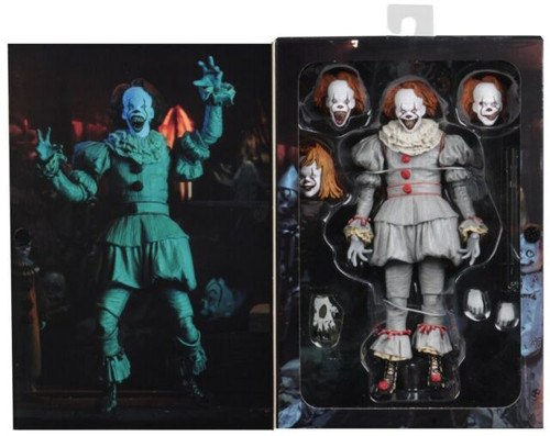 """It (2017) - Pennywise Well House Ultimate 7"""" Action Figure-NEC45467"""