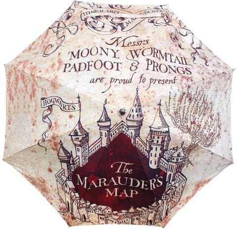 Harry Potter - Marauders Map Umbrella-HMBUMBRHP04