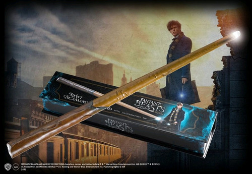 Fantastic Beasts and Where to Find Them - Newt Illuminating Wand-NOBNN5061