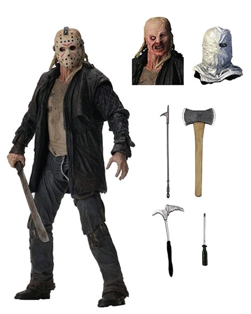 """Friday the 13th - Jason Ultimate 7"""" Action Figure-NEC39720"""