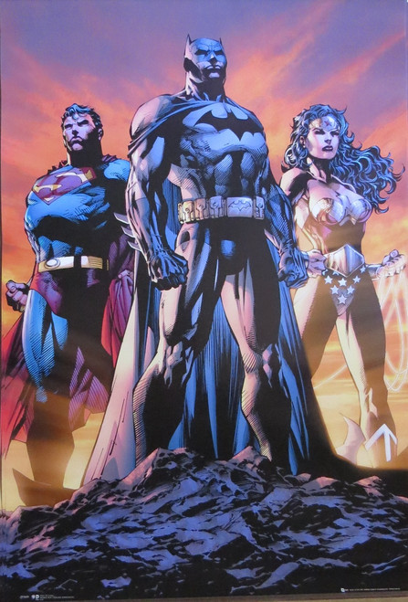 Justice League Of America Poster-Laminated Available-90cm x 60cm-Br... Attack