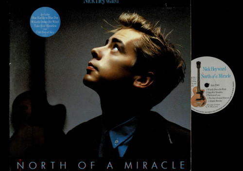 NICK HEYWARD-North Of A Miracle-VINYL LP-USED-UK press