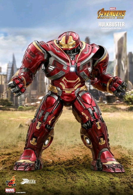 Avengers 3: Infinity War - Hulkbuster Power Pose 1:6 Scale Action Figure-HOTPPS005