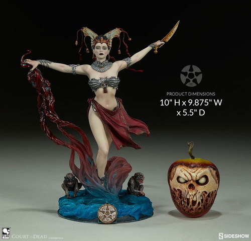 """Court of the Dead - Gethsemoni Queens Conjuring 10"""" Statue-SID500063"""