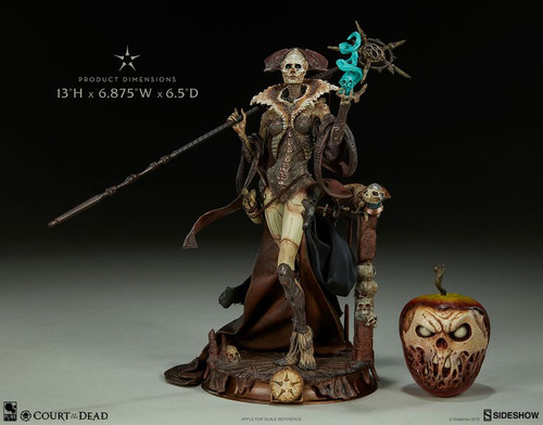 """Court of the Dead - Xiall Osteomancers Vision 10"""" Statue-SID500065"""